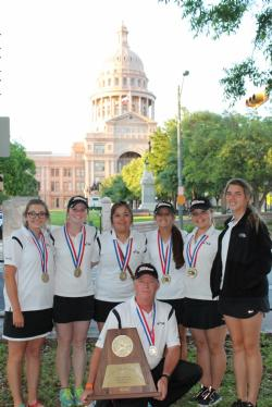 LADY CATS ARE STATE GOLF CHAMPS!