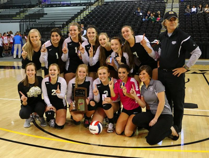 Radford Girls Volleyball = STATE CHAMPS!!!