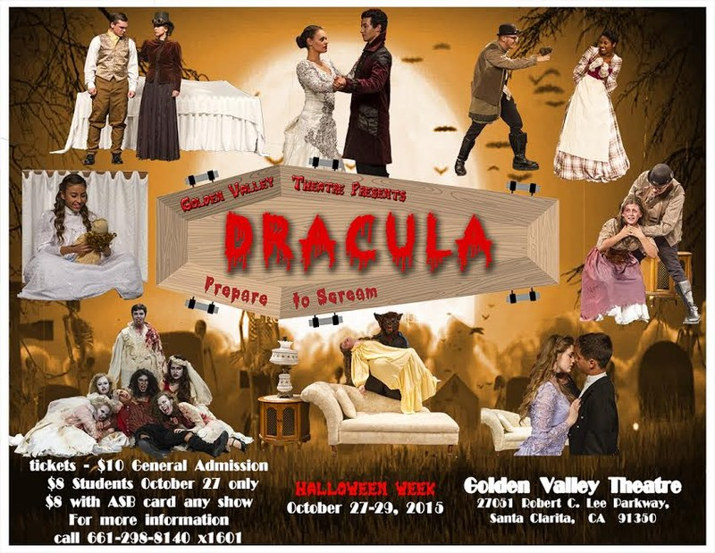 GV Theatre Proudly Presents: DRACULA