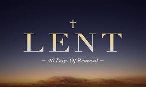 Lenten Prayer & Thoughts
