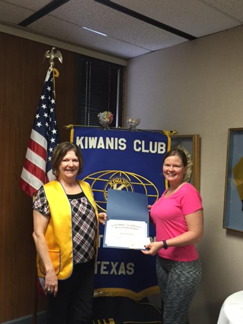 Kiwanis Club Awards Scholarship