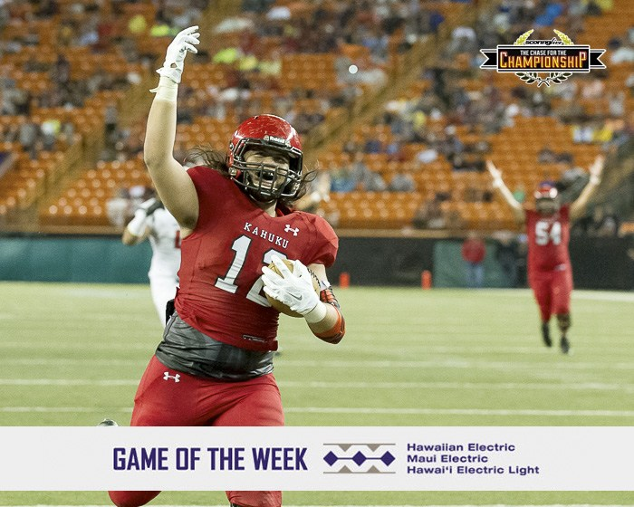 Kahuku rolls Saint Louis, 39-14 for eighth state title