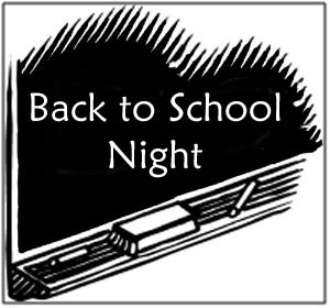 Back-to-School Night is Wednesday, 8/26 from 5:30pm-8:00pm - Click here for details!