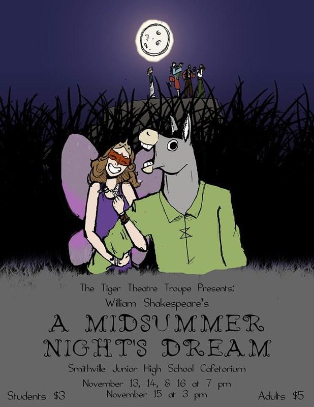 Tiger Theatre Troup Presents 'A Midsummer Night's Dream'