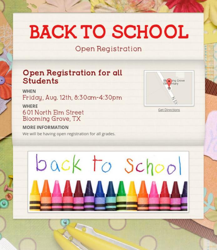 Open Registration for Elementary Thumbnail Image