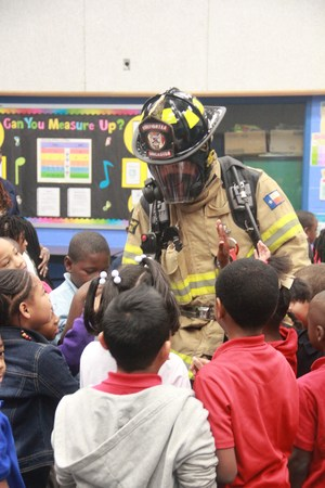 Elementary Students Get A Lesson in Fire Safety