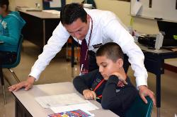 Lockhart Junior High School Principal Mark Estrada Featured in Renowned Educational Publication