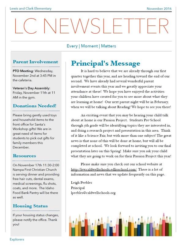November Newsletter Thumbnail Image