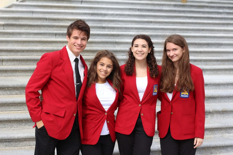 AMCHS Students Attend the SkillsUSA Washington D.C. Leadership Training Institute on Capitol Hill