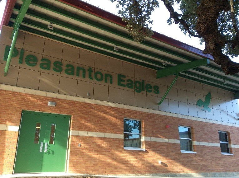 PISD Holds Ribbon Cutting for New Eagle Athletic Training Facility