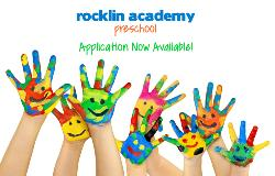 Rocklin Academy Preschool Application Now Available!