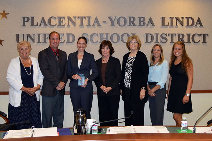 Board honors Santa Ana College's Kim Mathews with award