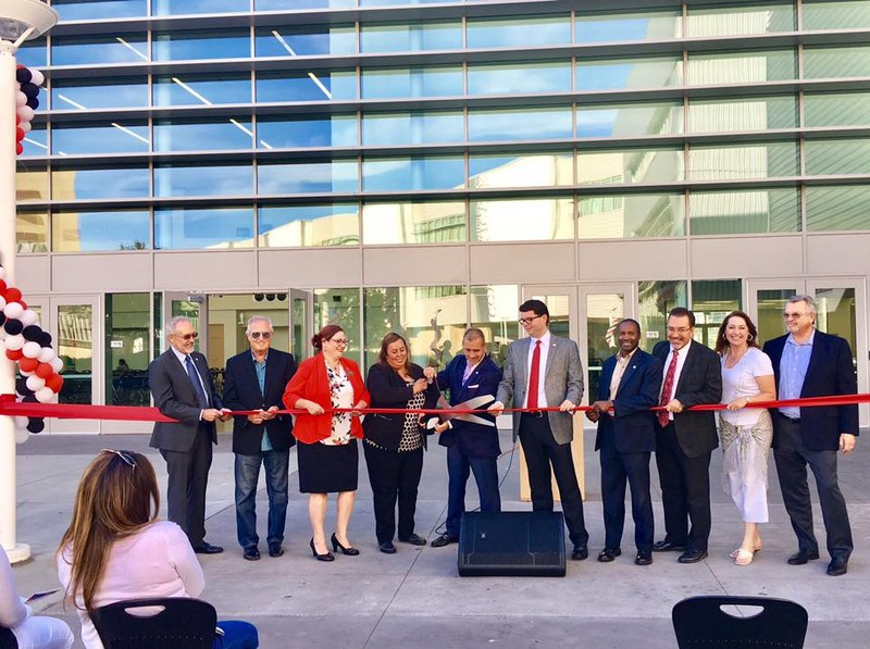 Ribbon Cutting Ceremony for Lawndale HS Student Union Building Thumbnail Image