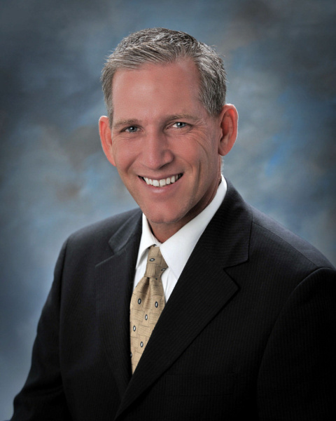 Picture of Dr. Clint Harwick, the new Superintendent of the Huntington Beach Union High School District.