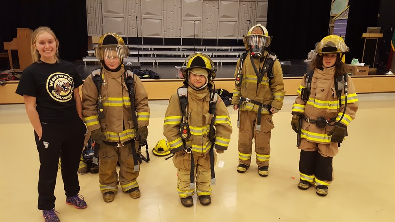 Firefighters Visit Thumbnail Image