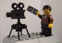 Lego Man with Camera