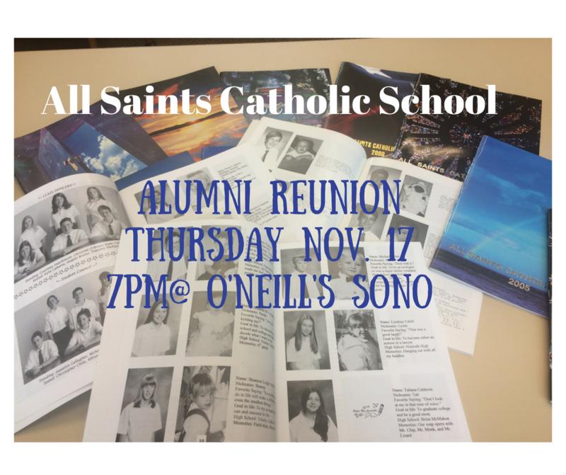 Alumni Reunion November 17 Thumbnail Image