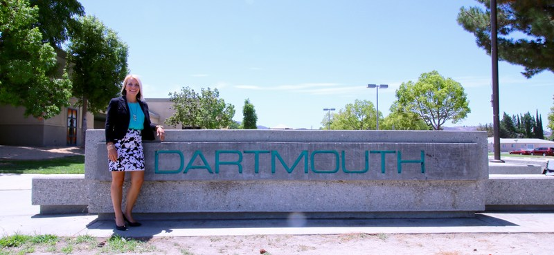Dartmouth's new principal, Jennifer Martin.