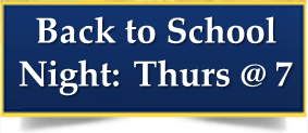 Back to School Night - Thursday the 25th Thumbnail Image