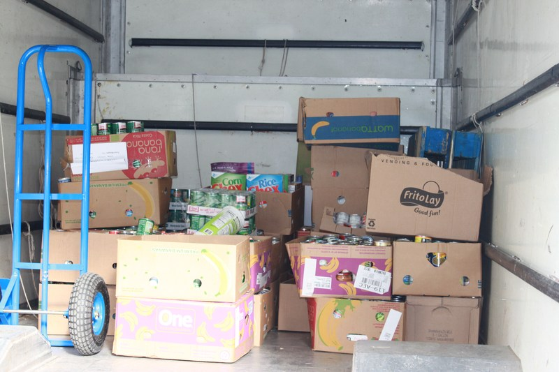 RECORD BREAKING FOOD FOR  MANNA COLLECTION