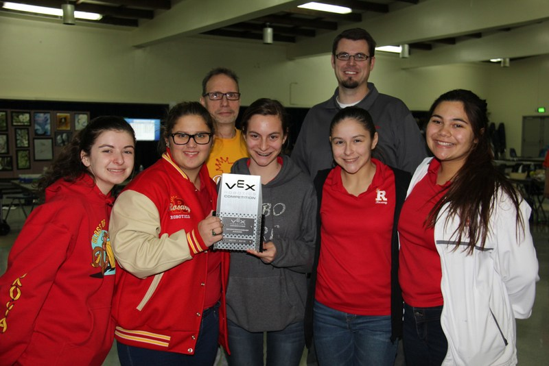 Robotics Team brings home award!