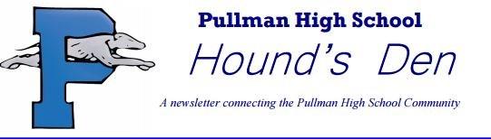 PHS Fall Issue of Hound's Den Newsletter Thumbnail Image