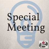 Board of Education Notice: Special Meeting