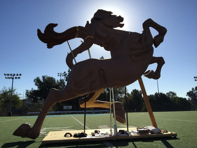 Once a Mustang Monument - Show your Mustang Spirit!