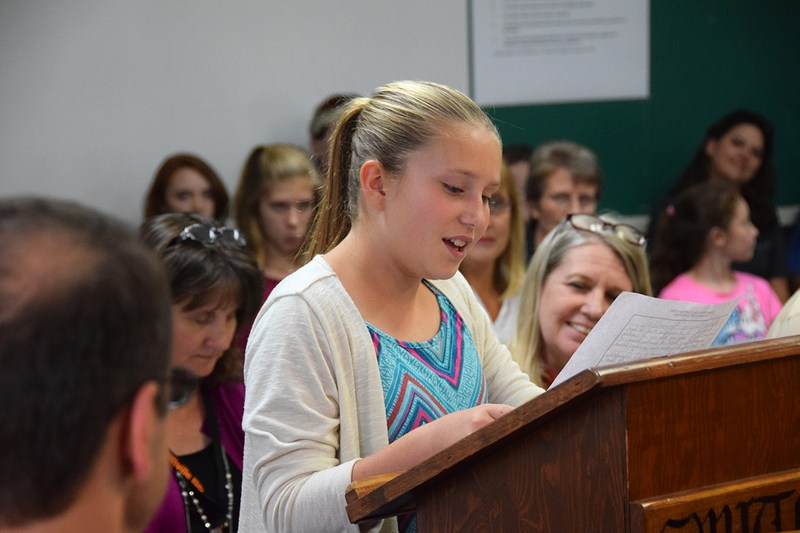 SISD School Board Character Speaker