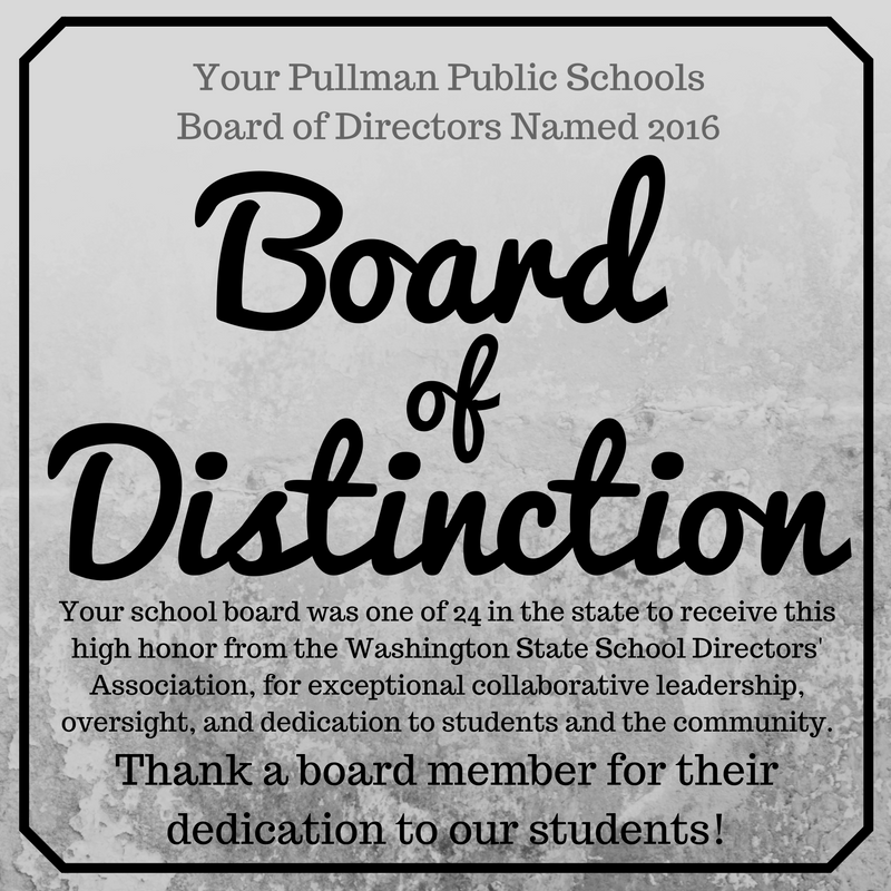 School Board Named 2016 Board of Distinction! Thumbnail Image