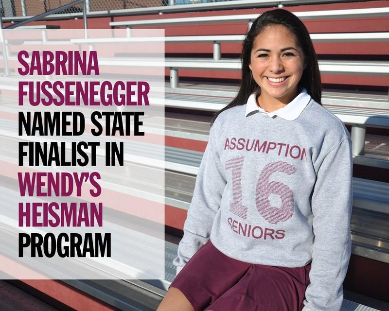Wendy's Heisman Program Selects Sabrina Fussenegger as State Finalist