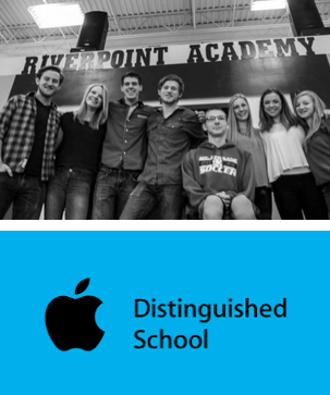 Apple Distinguished School & InvenTeam Winner