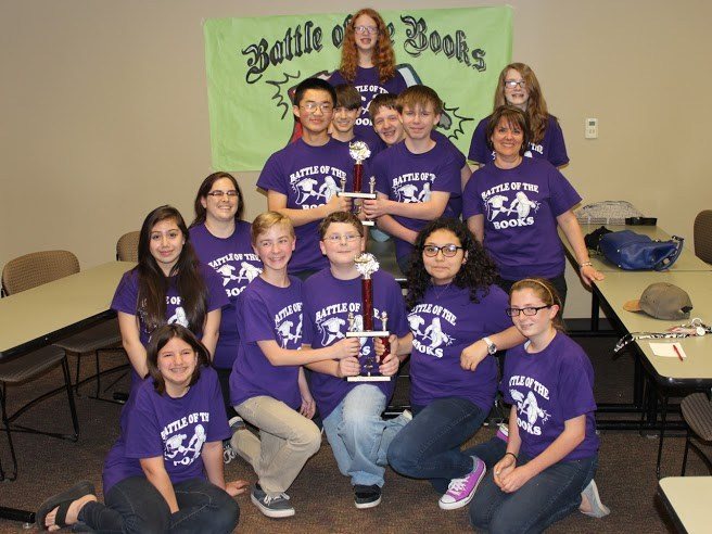 Appling Middle Wins Battle of the Books