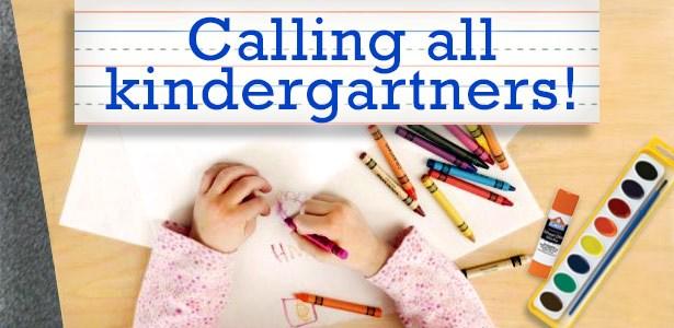 Kindergarten Registration  - February 24 Thumbnail Image