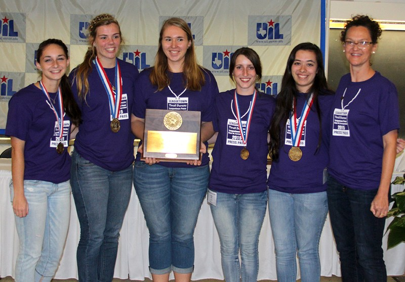 Journalism Team Wins STATE CHAMPIONSHIP!
