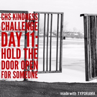 Kindness Week Challenge: Hold the Door Open for Someone