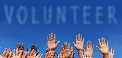 "Attention Volunteers.  The Volunteer Application is now live and ready for you to ""apply""."