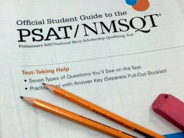 Juniors Scheduled to take PSAT on October 14th