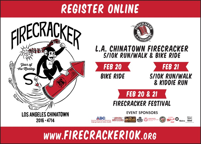 Annual Los Angeles Chinatown Firecracker Run/Walk