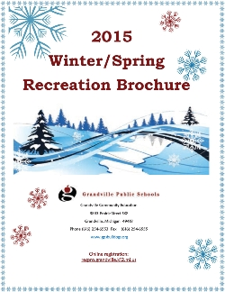 The Winter Recreation Brochure Is Here