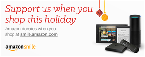 Please support PHA when you shop on Amazon this holiday season!