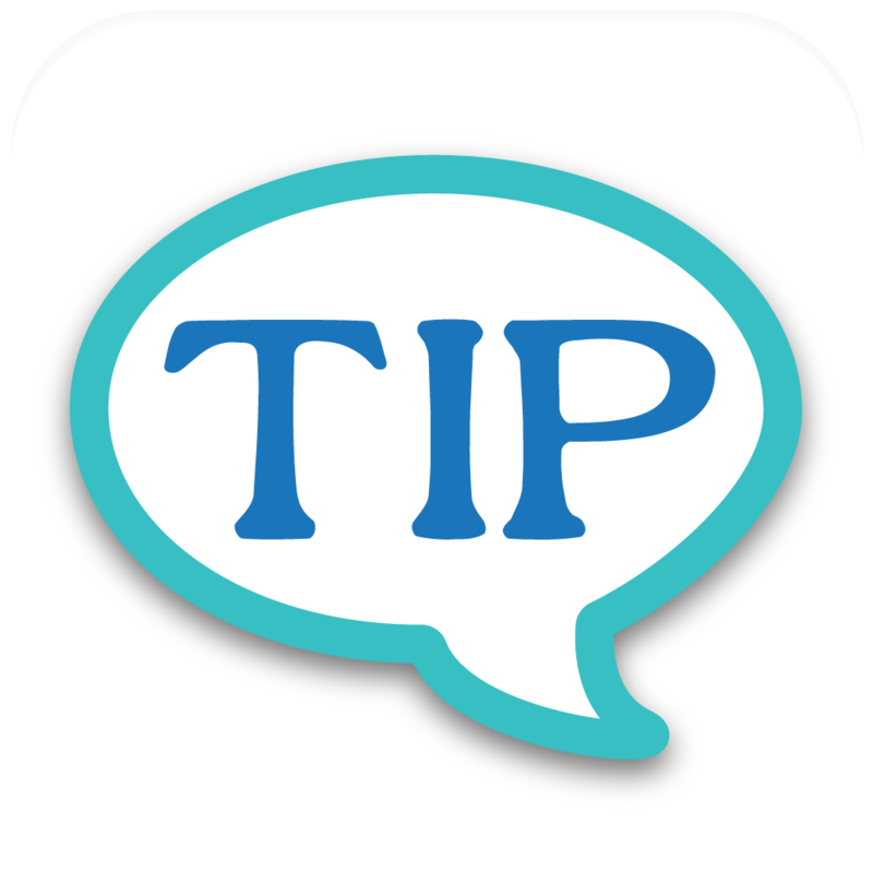 Related Keywords & Suggestions for tip icon