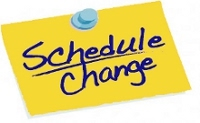 Limited Schedule Changes
