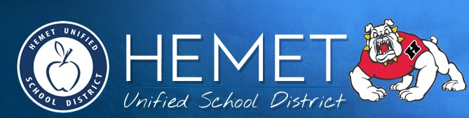 Hemet Unified and Hemet High logo