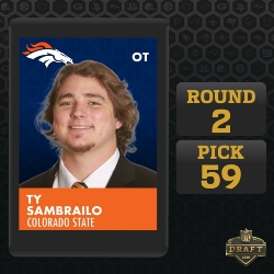 St. Francis Alum is Now a Member of the Denver Broncos