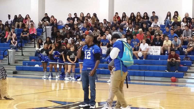 NHS Pep Rally! #GoRattlers