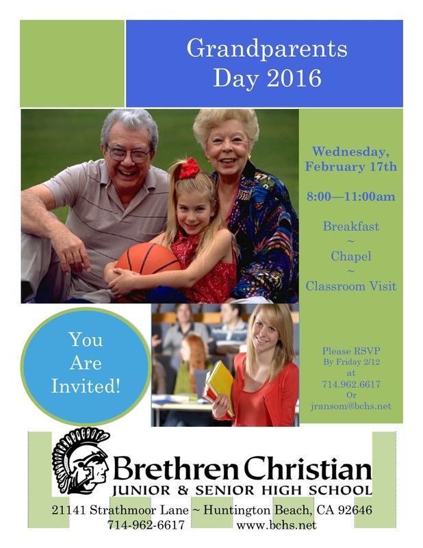 Grandparents Day - February 17, 2016