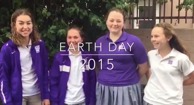 St. Anthony High School Celebrates Earth Day