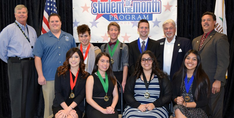 Student of the Month Honorees