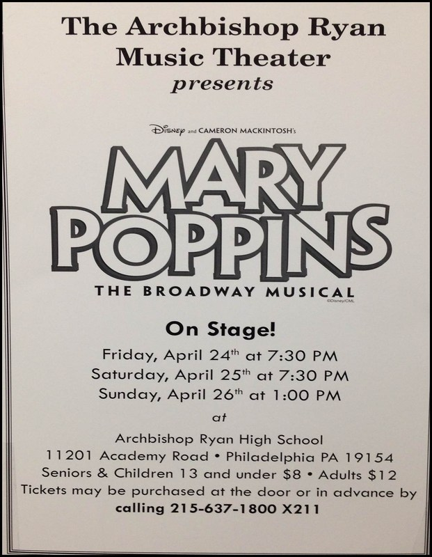 Mary Poppins ~ Spring Show 2015